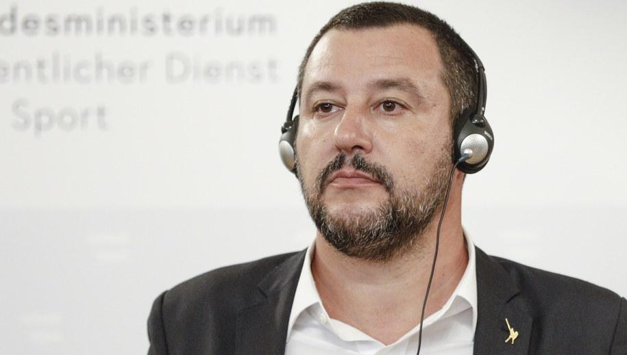Matteo Salvini /FLORIAN WIESER /PAP/EPA