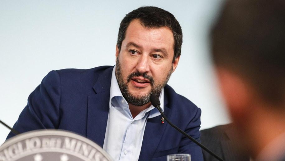 Matteo Salvini /GIUSEPPE LAMI /PAP/EPA