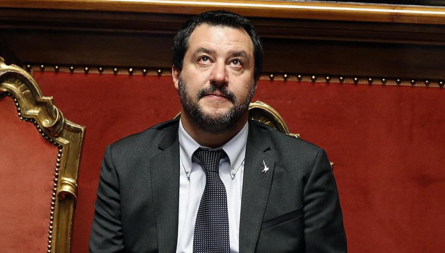 Matteo Salvini /RICCARDO ANTIMIANI /PAP/EPA