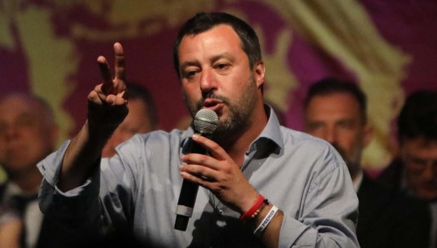 Matteo Salvini /Alberto Colusso /PAP/EPA