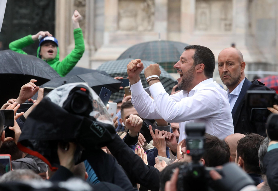 Matteo Salvini /MATTEO BAZZI    /PAP/EPA