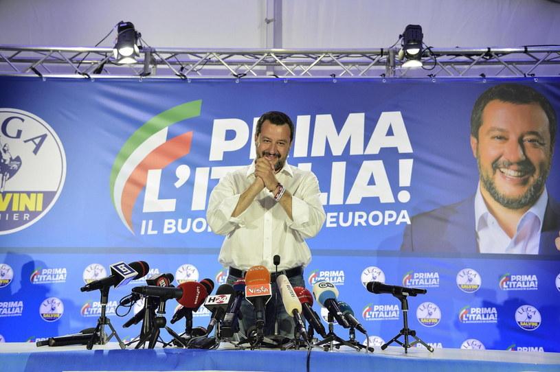 Matteo Salvini / EPA/FLAVIO LO SCALZO /PAP/EPA