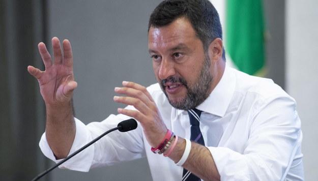 Matteo Salvini /MAURIZIO BRAMBATTI /PAP/EPA