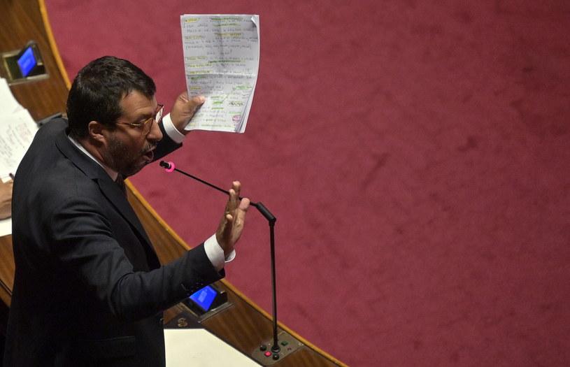 Matteo Salvini /RICCARDO ANTIMIANI /PAP