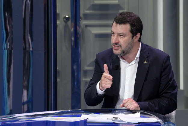 Matteo Salvini /CLAUDIO PERI /PAP/EPA