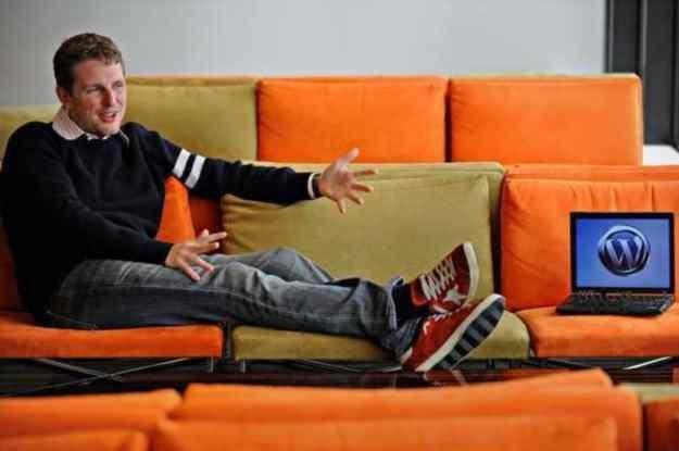 Matthew Charles Mullenweg - twórca WordPressa. /AFP
