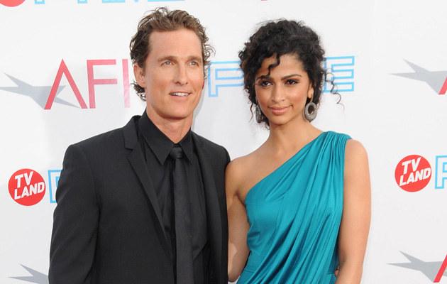 Matthew McConaughey, Camila Alves  /Splashnews