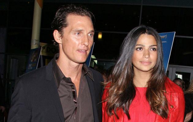 Matthew McConaughey i Camila Alves  /Splashnews
