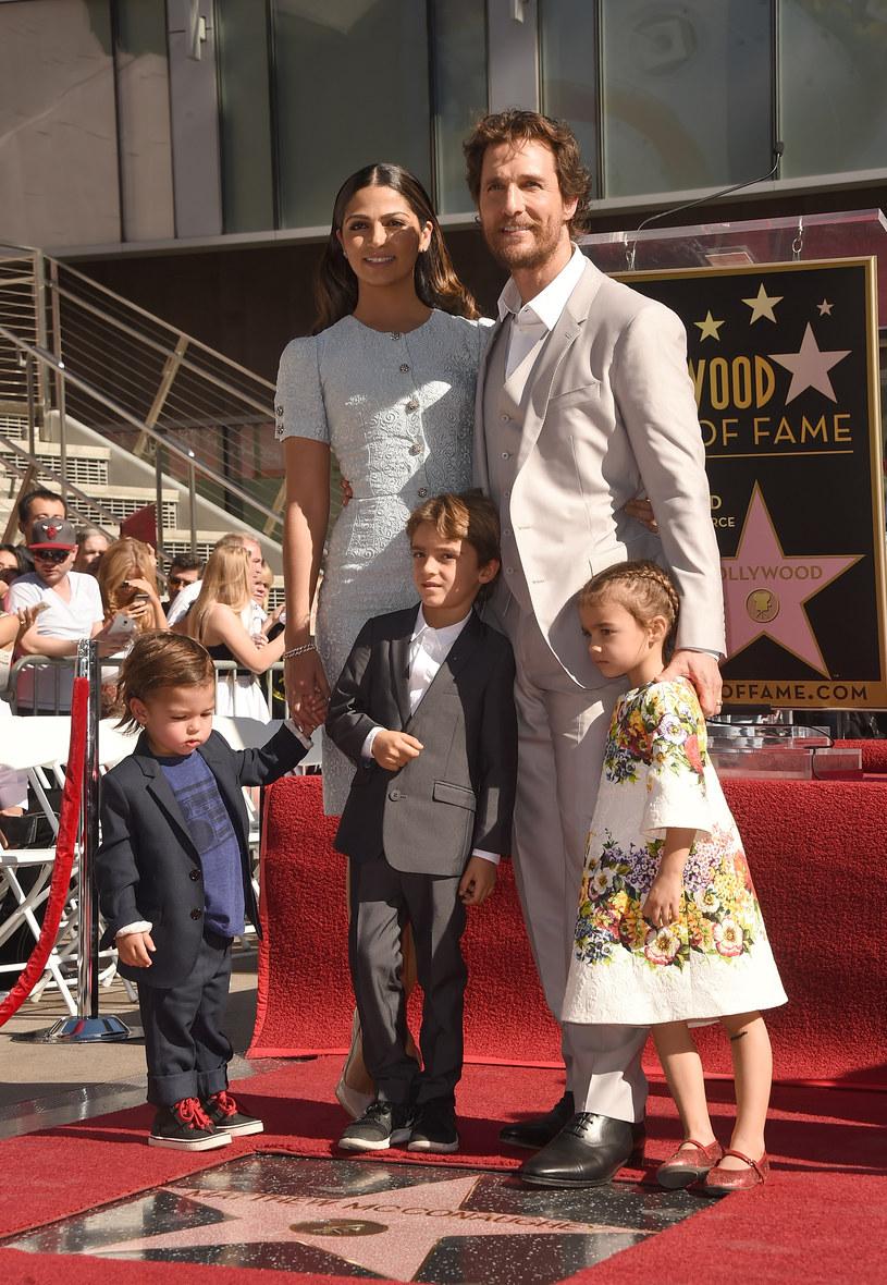 Matthew McConaughey i Camila Alves mają troje dzieci /Jason Merritt /Getty Images