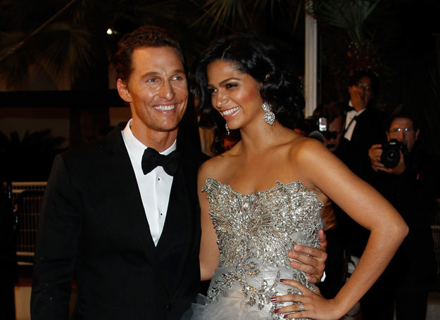 Matthew McConaughey i Camila Alves /- /Getty Images/Flash Press Media