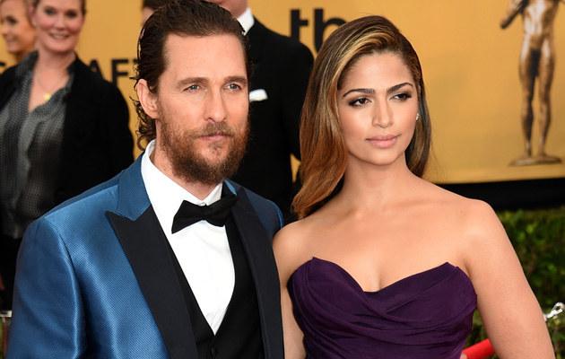 Matthew McConaughey i Camila Alves /Ethan Miller /Getty Images
