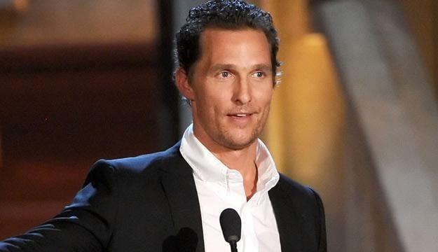 Matthew McConaughey już nieco wychudzony /AFP