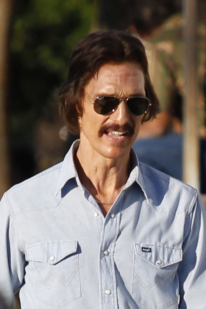 "Matthew McConaughey na planie filmu ""The Dallas Buyers Club"" /PacificCoastNews.com /East News"
