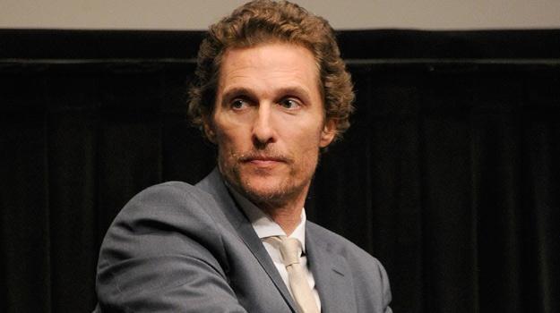 Matthew McConaughey tym razem zagra guru giełdy / fot. Dimitrios Kambouris /Getty Images/Flash Press Media