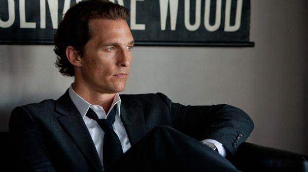"""Matthew McConaughey w scenie z filmu """"The Lincoln Lawyer"""" /materiały prasowe"""