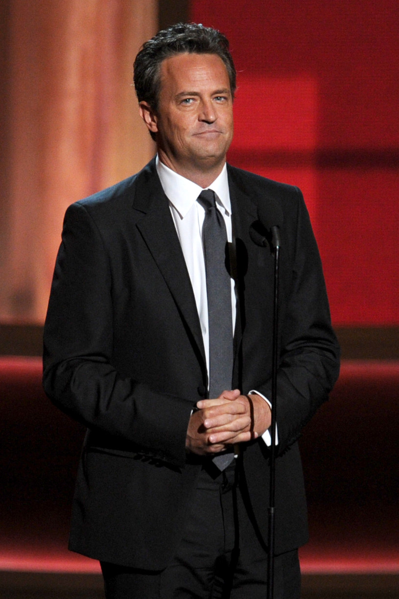 Matthew Perry, 2012 rok /Kevin Winter /Getty Images