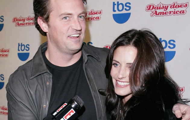 Matthew Perry i Courteney Cox /Michael Buckner  /Getty Images