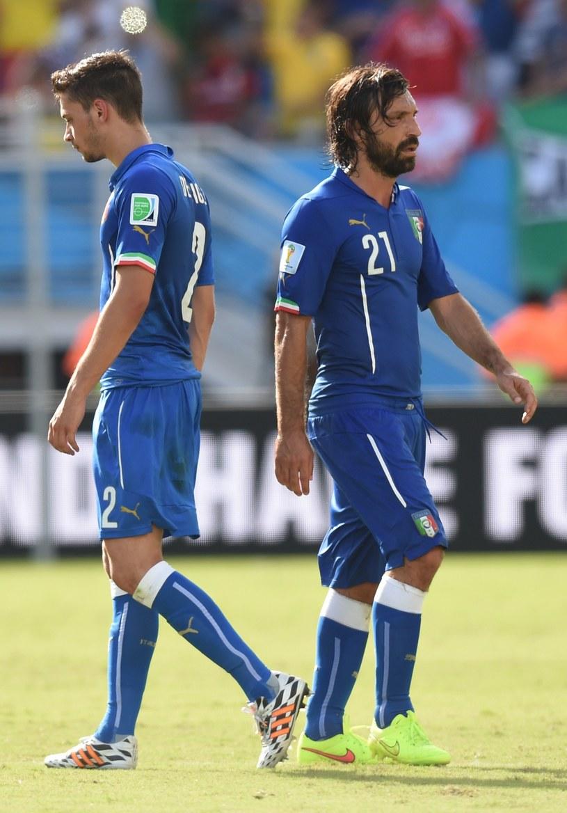 Mattia De Sciglio i Andrea Pirlo mają o czym myśleć /AFP
