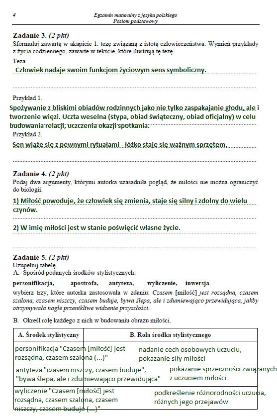 Matura 2014: Język polski. Arkusze i rozwiązania /INTERIA.PL