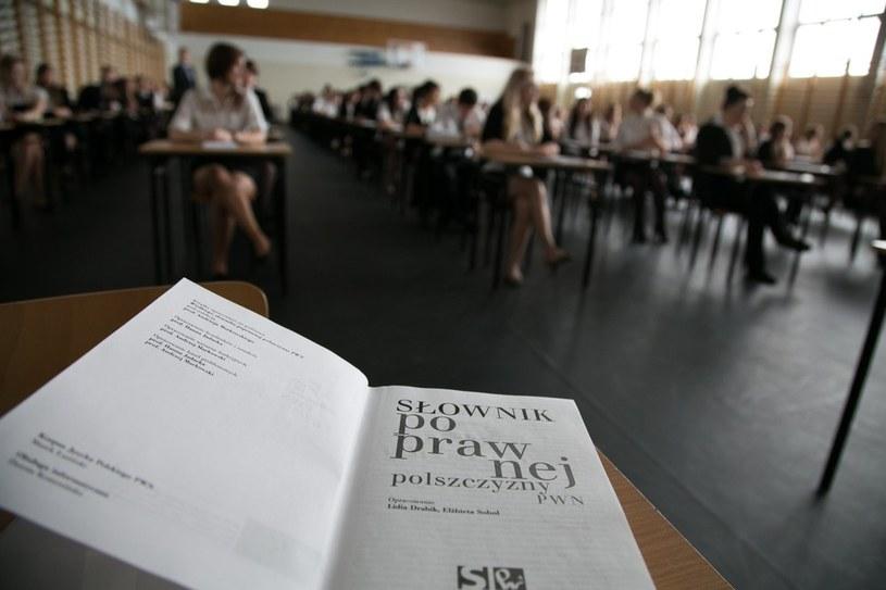 Matura 2014. Język polski /Marek Maliszewski  /Reporter
