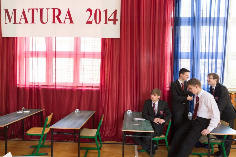 Matura 2014 /Robert Stachnik /Reporter
