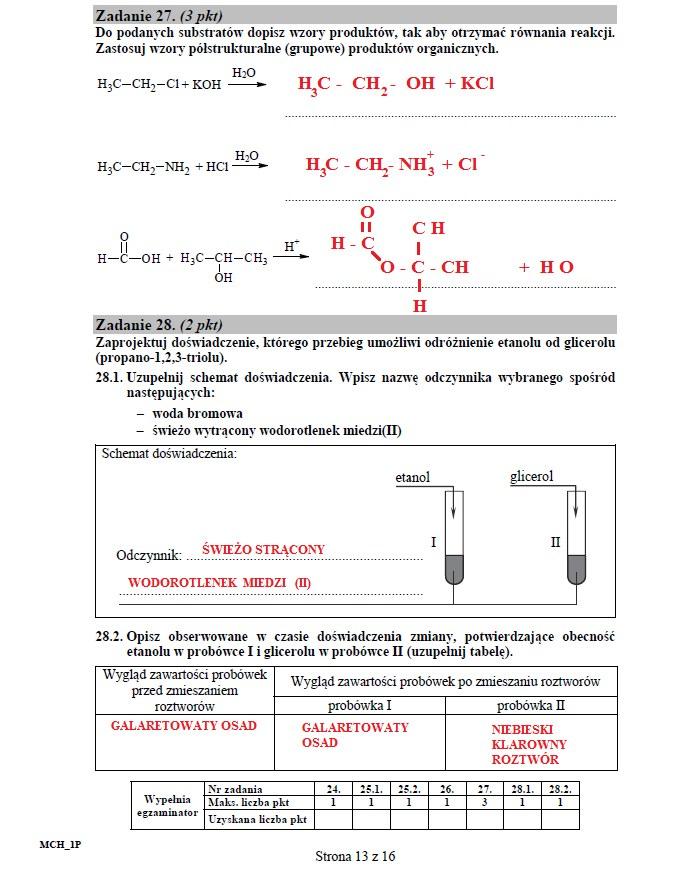 Matura 2016: Chemia poziom podstawowy /INTERIA.PL