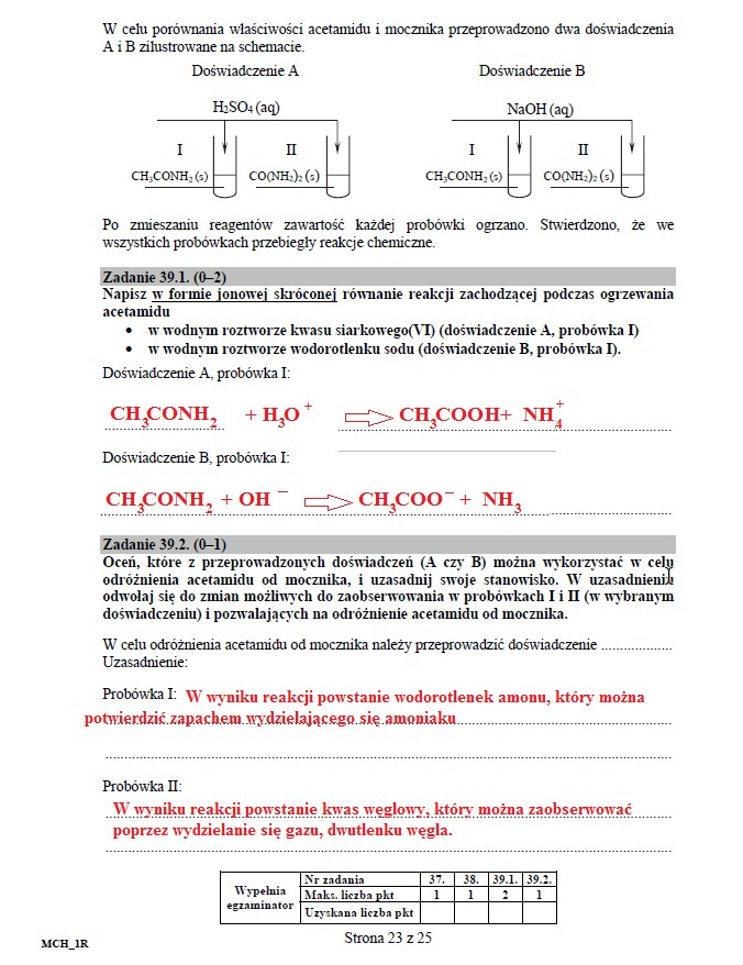 Matura 2016: Chemia poziom rozszerzony, str. 23 /INTERIA.PL