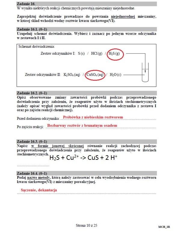 Matura 2016: Chemia /INTERIA.PL