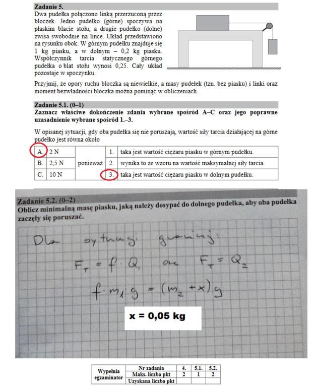 Matura 2018. Fizyka /Interia.pl /