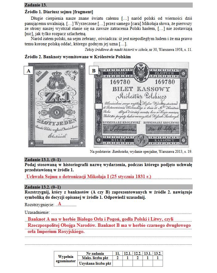 Matura 2018. Historia poziom rozszerzony /INTERIA.PL