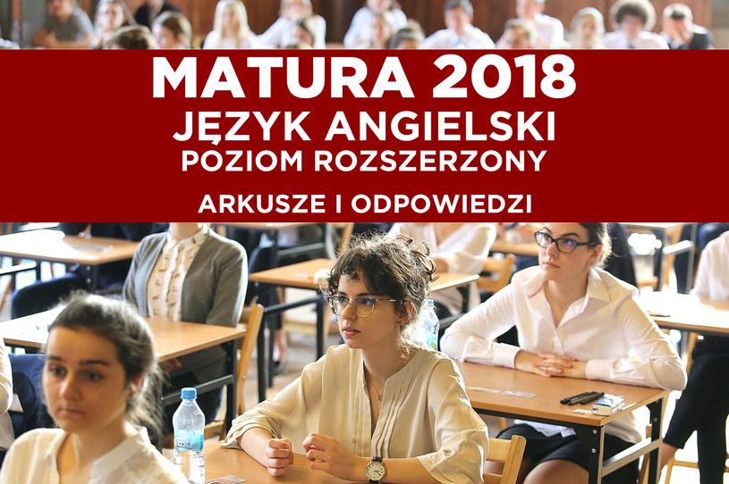 Matura 2018; zdj. ilustracyjne /LUCYNA NENOW / POLSKA PRESS /East News