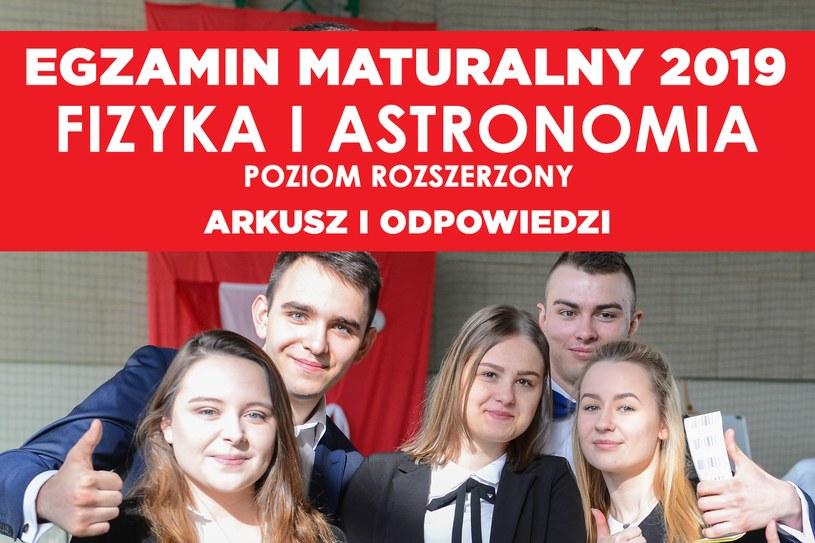 Matura 2019: Fizyka i astronomia, zdj. ilustracyjne /Adam Staskiewicz/ /East News