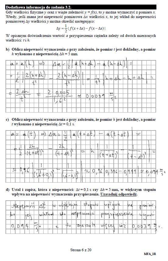 Matura 2019: Fizyka - poziom rozszerzony /INTERIA.PL