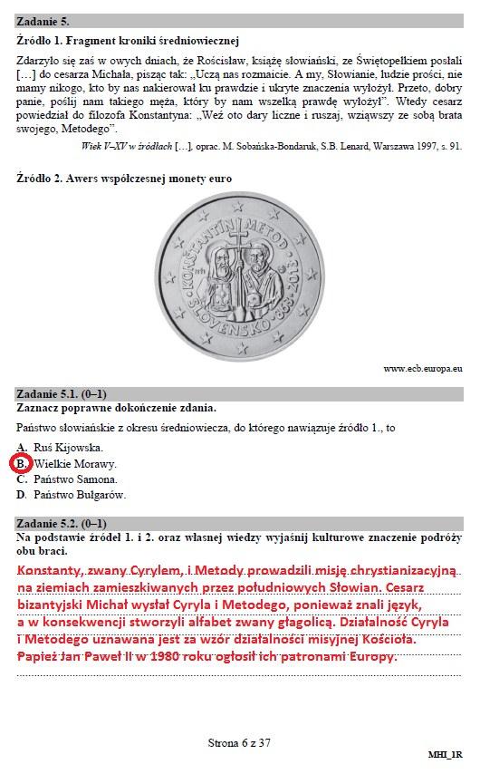 Matura 2019: Historia - poziom rozszerzony /INTERIA.PL