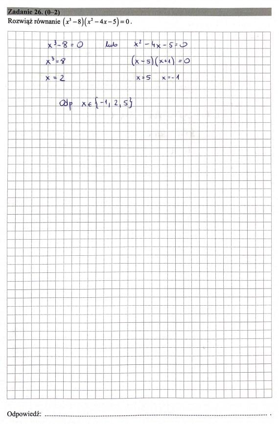 Matura 2019: Matematyka - poziom podstawowy, str. 14 /INTERIA.PL