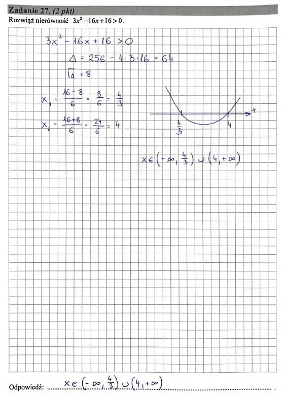 Matura 2019: Matematyka - poziom podstawowy, str. 15 /INTERIA.PL