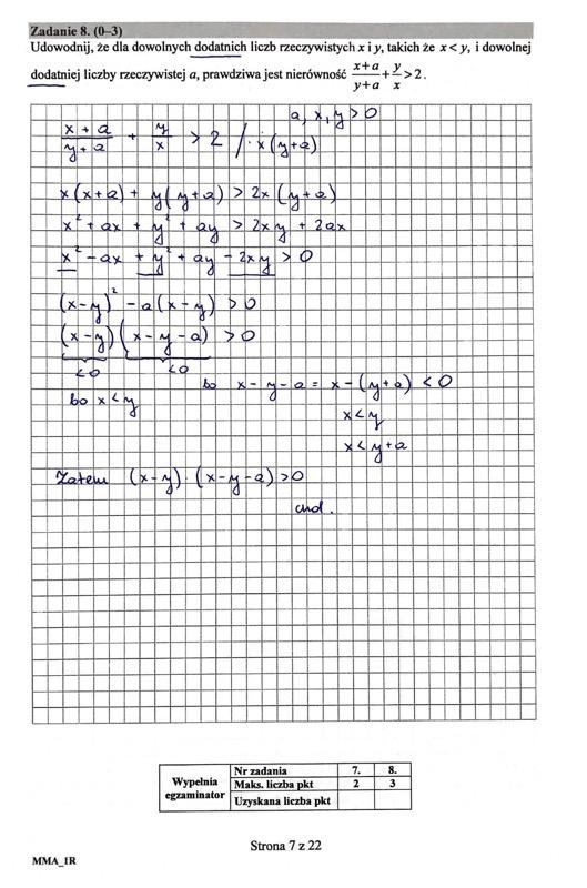 matura matematyka rozszerzona czerwiec 2019