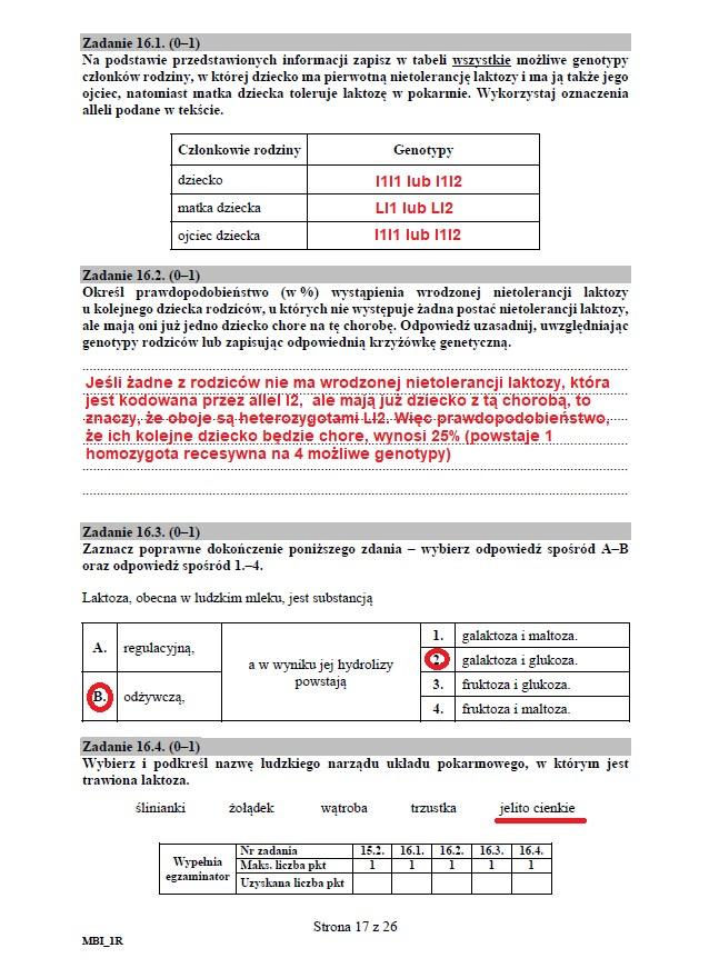 Matura 2020: Biologia - arkusz CKE i odpowiedzi, strona 17 /INTERIA.PL