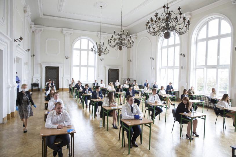Matura 2020: Dziś chemia i informatyka - poziom rozszerzony /Marek Maliszewski  /Reporter