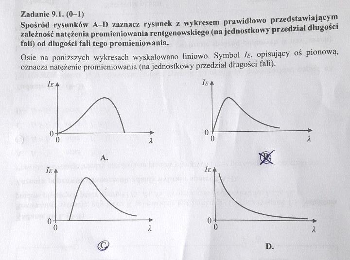 Matura 2020: Fizyka - odpowiedź do zad. 9.1 /INTERIA.PL