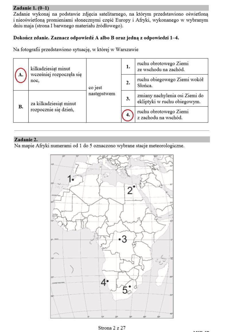 matura rozszerzona geografia 2012 odpowiedzi