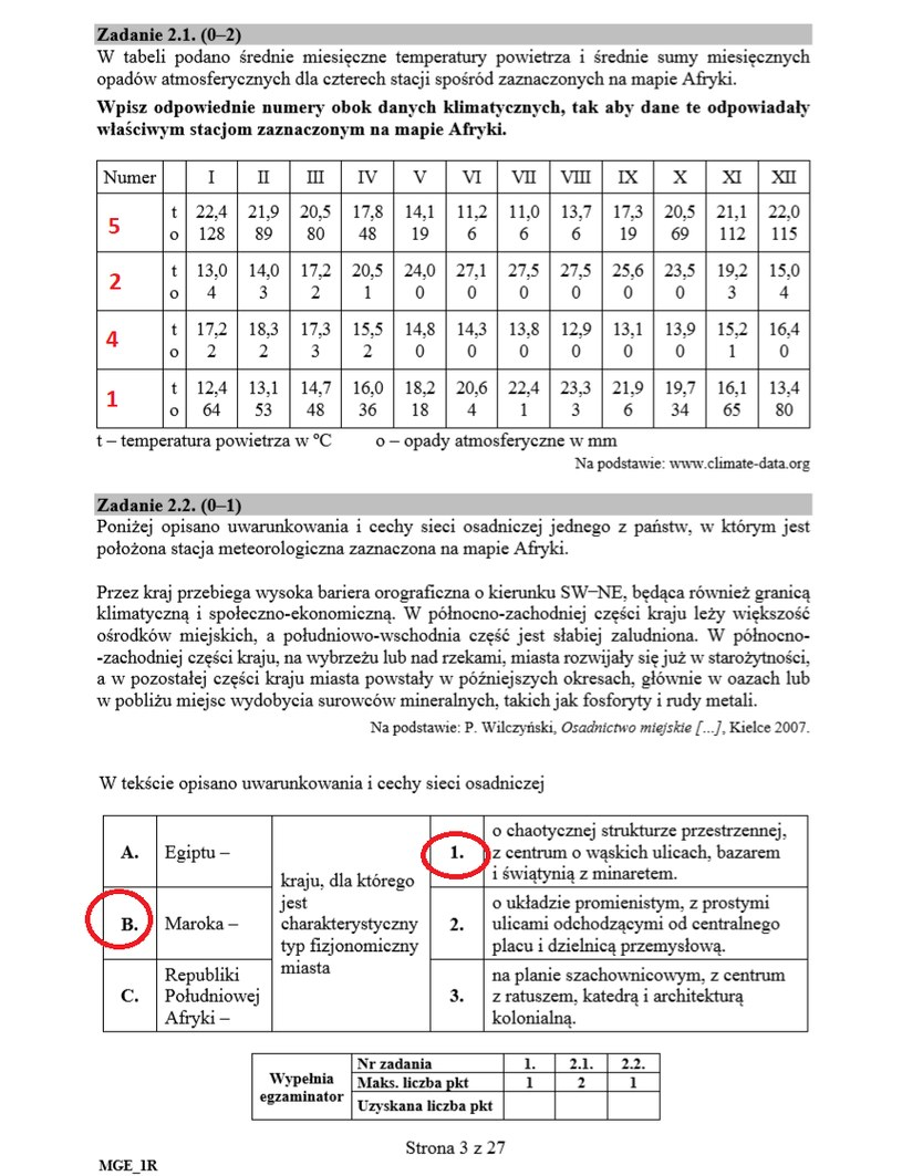 MATURA 2020: Geografia rozszerzona. Arkusz CKE i odpowiedzi /INTERIA.PL