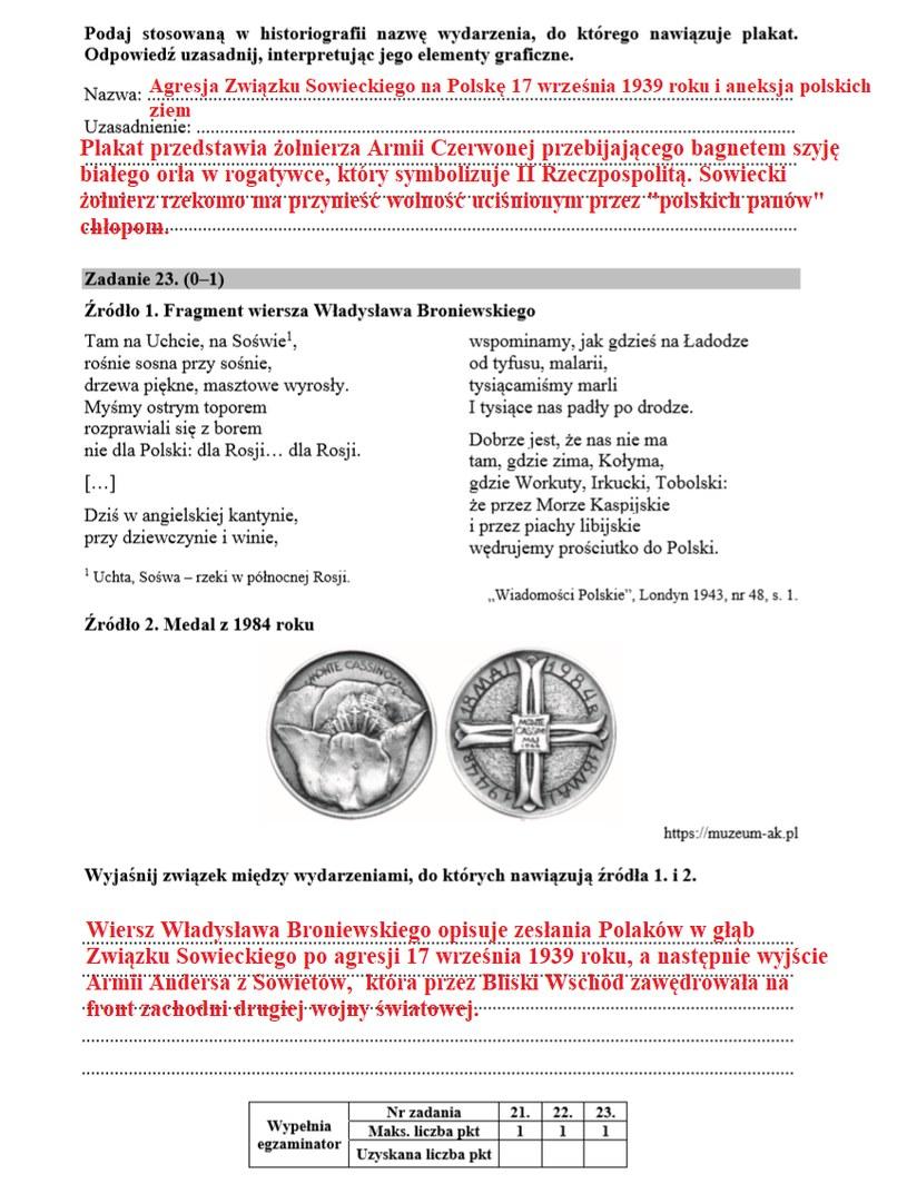 Matura 2020: Historia /INTERIA.PL