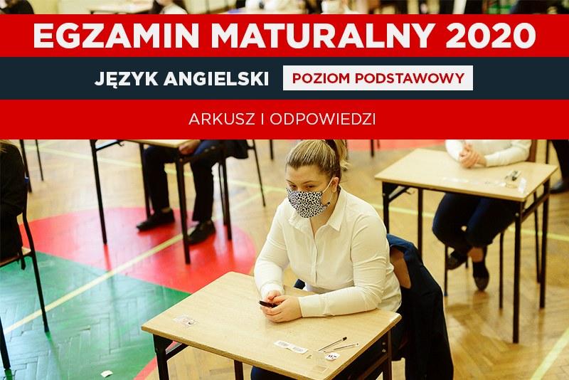 Matura 2020. Język angielski poziom podstawowy; autor zdjęcia: Daniel Dmitriew/ agencja FORUM /INTERIA.PL