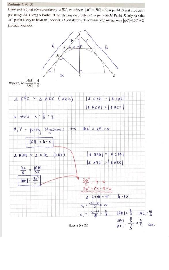 MATURA 2020. Matematyka poziom rozszerzony. Arkusz CKE i odpowiedzi. Strona 5 /INTERIA.PL