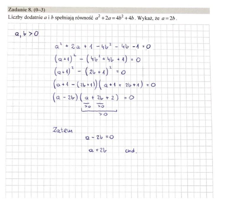 MATURA 2020. Matematyka poziom rozszerzony. Arkusz CKE i odpowiedzi. Strona 6 /INTERIA.PL