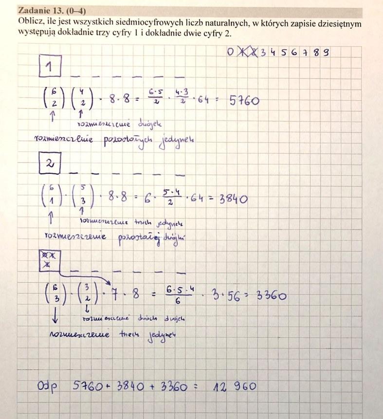 MATURA 2020. Matematyka poziom rozszerzony. Arkusz CKE i odpowiedzi. Strona 11 /INTERIA.PL