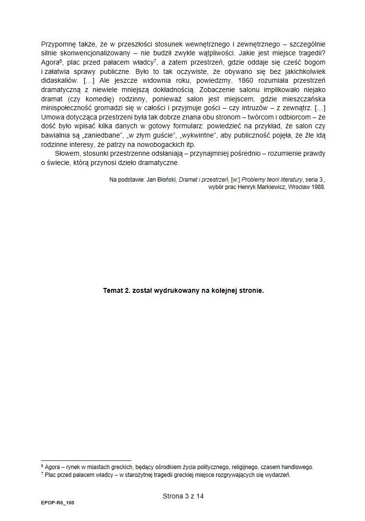 Matura 2021. Arkusz CKE i rozwiązania /INTERIA.PL