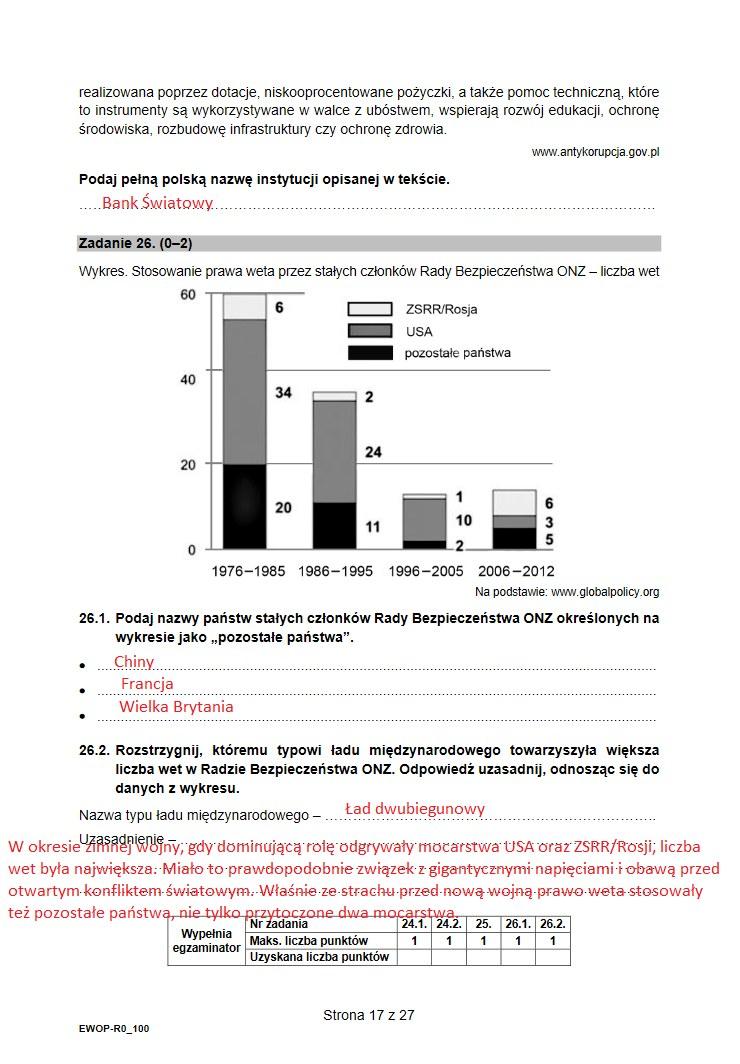 Matura 2021. Arkusz z WOSu /INTERIA.PL