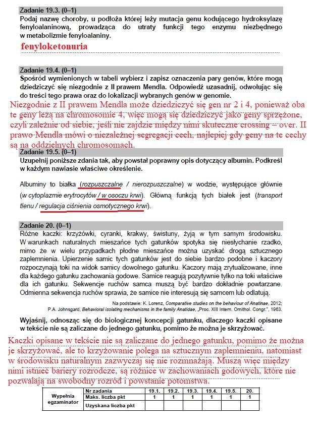 Matura 2021: Biologia /INTERIA.PL